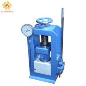 Compression Testing Machine-Hand Operated