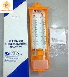 Wet And Dry Bulb Hygrometer Mason's